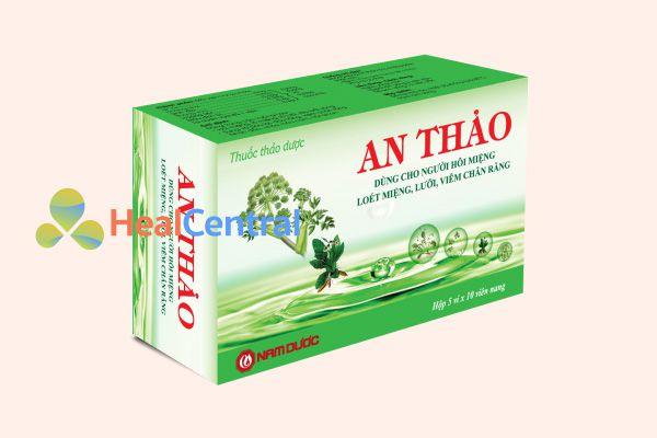 Thuốc nhiệt miệng An Thảo được sản xuất bởi công ty Nam Dược-Việt Nam