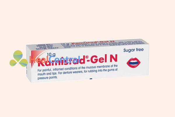 Thuốc điều trị nhiệt miệng Kamistad – Gel N