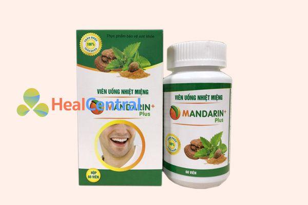 Thuốc nhiệt miệng Mandarin Plus có thể sử dụng cho mọi lứa tuổi