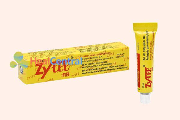 Thuốc bôi nhiệt miệng Zytee RB điều trị cả lở loét miệng