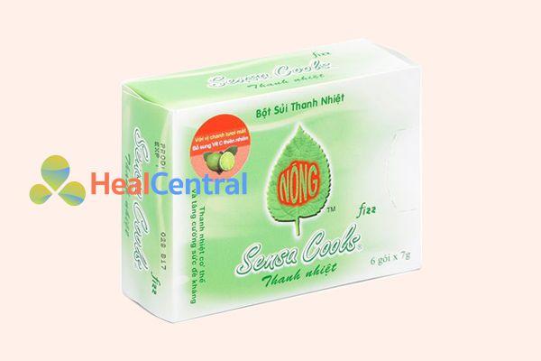 Viên sủi chữa nhiệt miệng Sensa Cool
