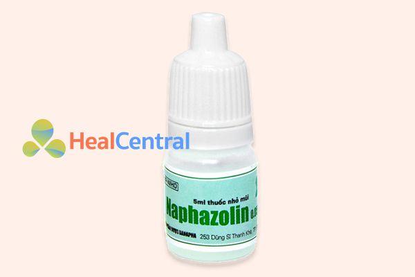 Thuốc nhỏ mũi Naphazolin