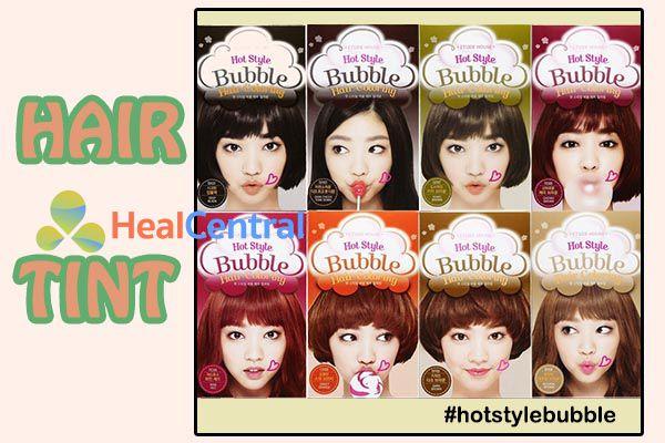 Thuốc nhuộm tóc Hàn Quốc Hot Style Bubble