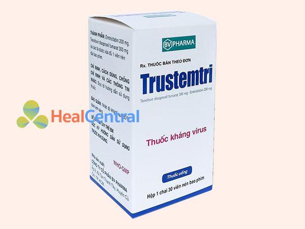 Thuốc PrEP Trustemtri - dự phòng phơi nhiễm HIV