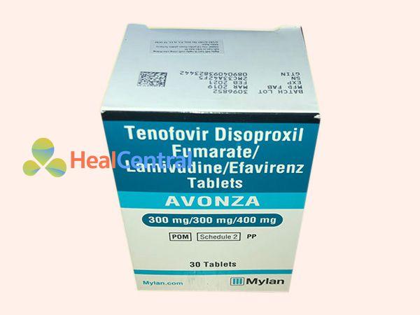 Thuốc PrEP Avonza - dự phòng phơi nhiễm HIV