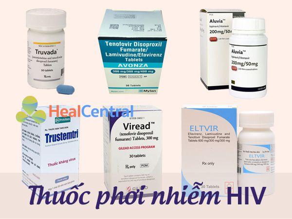 Thuốc phơi nhiễm HIV