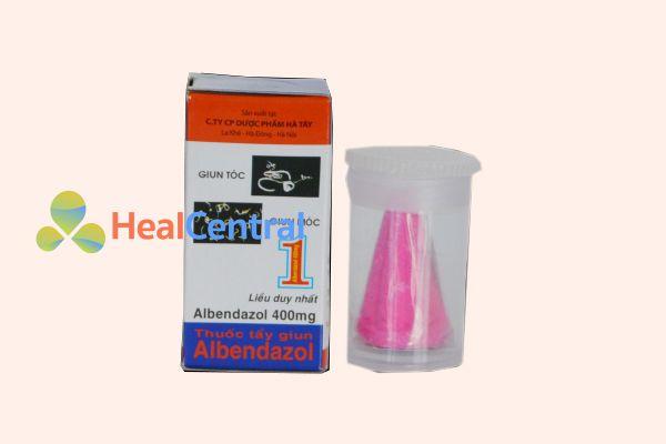 Thuốc tẩy giun Albendazol