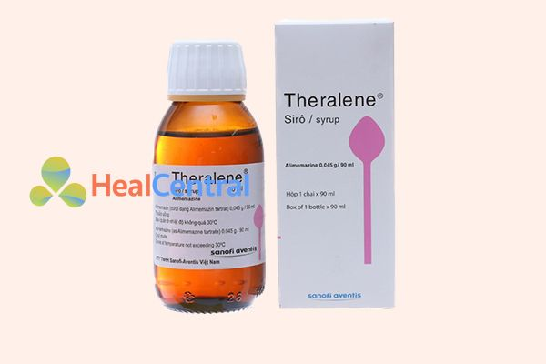 Thuốc Theralene dạng siro