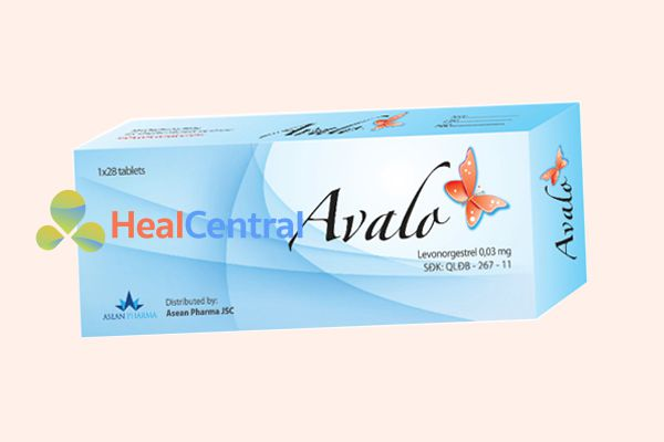 Thuốc tránh thai Avalo dùng cho phụ nữ đang cho con bú