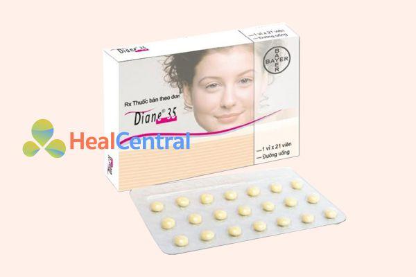 Thuốc tránh thai 21 viên Diane 35