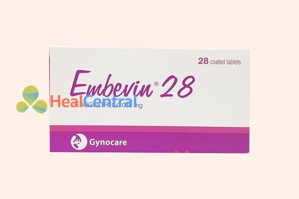 Thuốc tránh thai Embevin 28 có nguồn gốc từ Mỹ