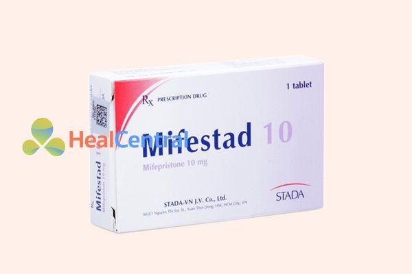 Thuốc tránh thai khẩn cấp tác dụng 120 giờ Mifestad 10