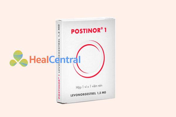 Thuốc tránh thai khẩn cấp trong vòng 72 giờ Postinor