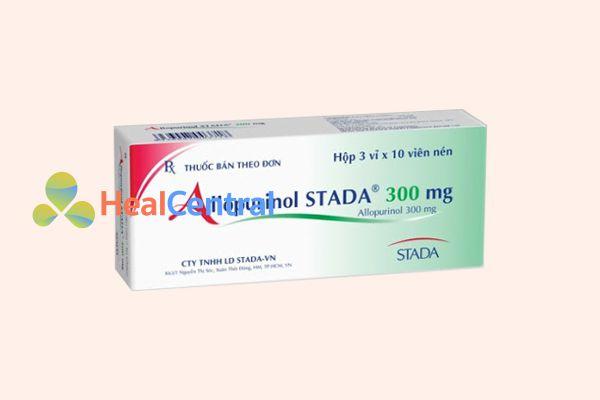 Thuốc điều trị gout allopurinol 300mg