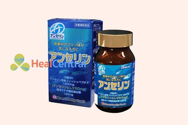 Thuốc trị bệnh gút Nhật Bản anserine minami 240 viên