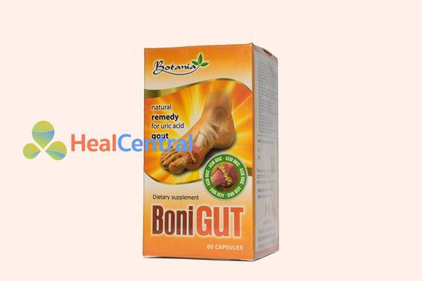 BoniGut - lựa chọn hoàn hảo cho người mắc bệnh gout