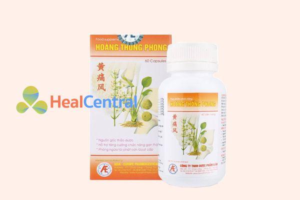 Hoàng Thống Phong - Một thực phẩm bảo vệ sức khỏe cho người bệnh gout