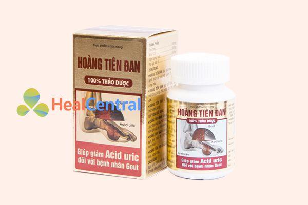 Hoàng tiên đan có công dụng giúp giảm acid uric đối với bệnh nhân gout