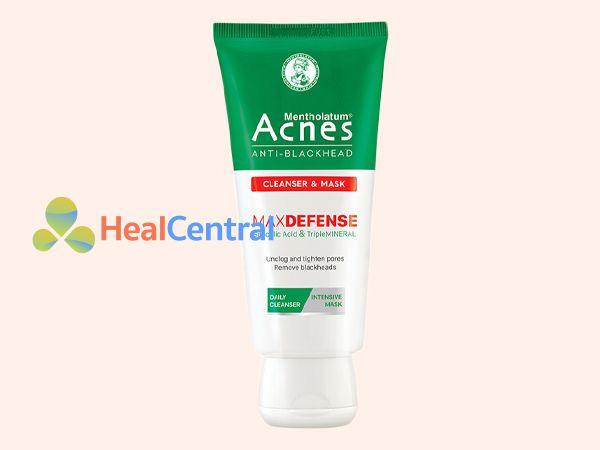 Kem rửa mặt trị mụn đầu đen Acnes Anti - Blackhead