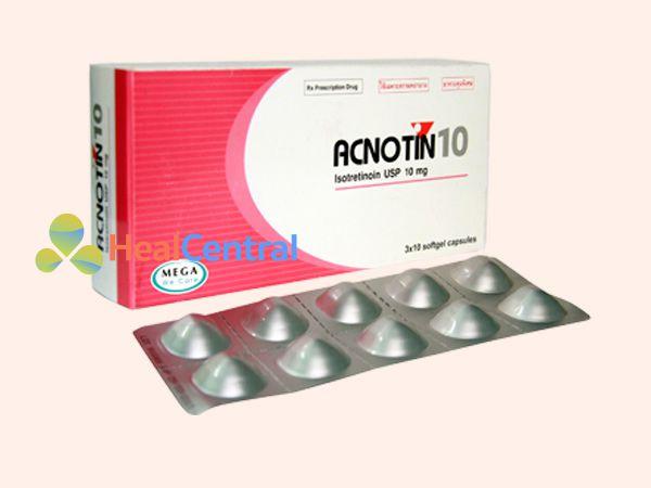 Thuốc chữa mụn trứng cá Acnotin