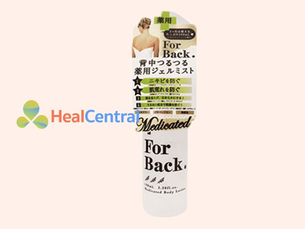 Thuốc trị mụn lưng Pelican For Back Medicated
