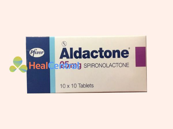 Thuốc trị mụn nội tiết Spironolactone