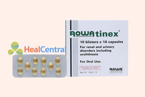 Thuốc đặc trị sỏi thận Rowatinex
