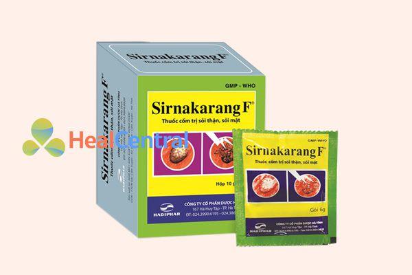 Thuốc Cốm tan sỏi thận Sirnakarang F thế hệ mới