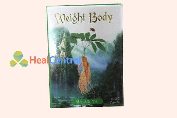 Thuốc Weight Body của Hàn Quốc
