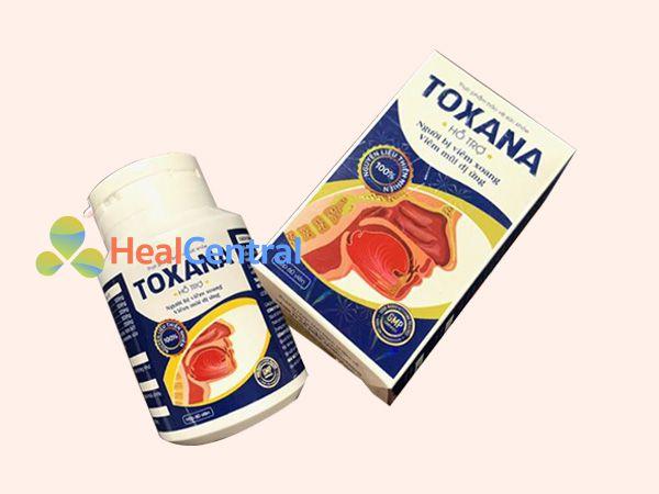Hình ảnh hộp Toxana