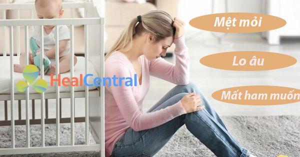 Trầm cảm sau sinh gây ra triệu chứng và hậu quả nặng nề cho phụ nữ