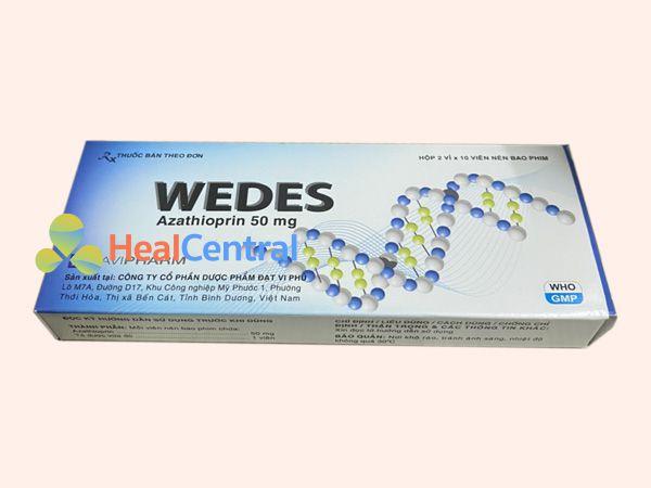 Hình ảnh hộp thuốc Wedes