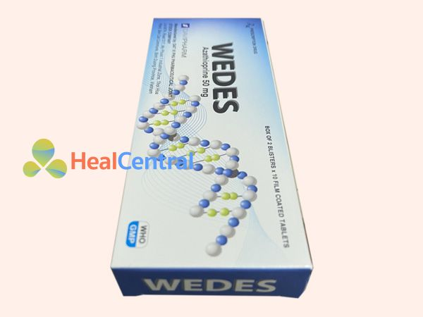 Thuốc Wedes chứa Azathioprin 50mg