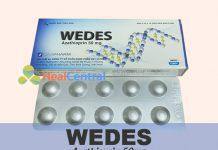 Thuốc Wedes 50mg