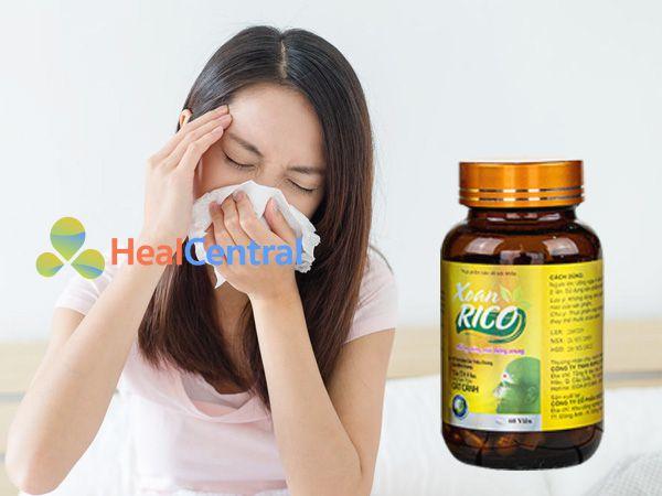 Xoan Rico - hỗ trợ cho bệnh nhân viêm xoang