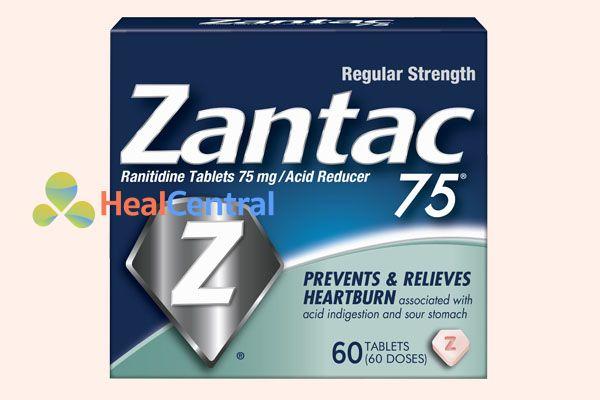 Thuốc Zantac 75mg