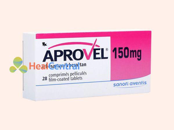 Hình ảnh hộp thuốc Aprovel 150mg