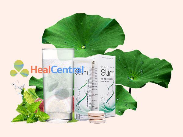 Detox Slim bào chế từ các thành phần thảo dược