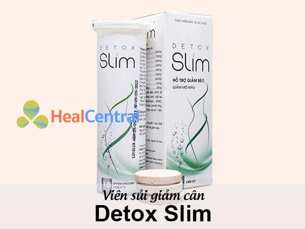Viên sủi giảm cân Detox Slim