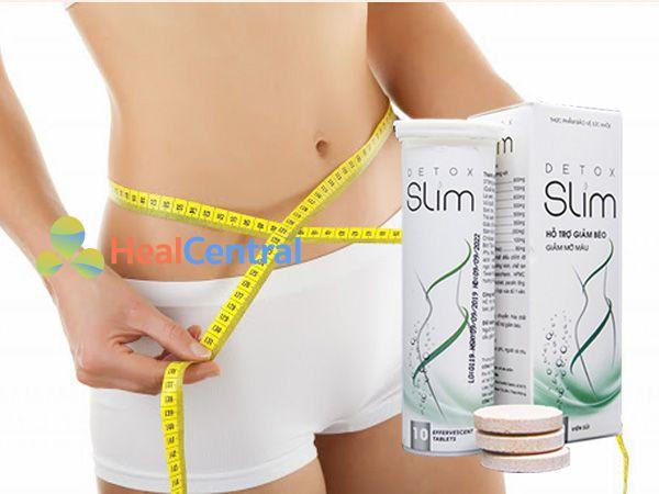 Detox Slim - hỗ trợ giảm cân hiệu quả
