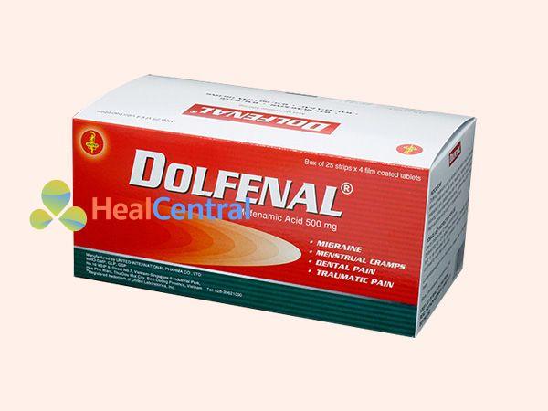Hình ảnh hộp thuốc Dolfenal