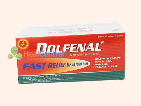 Thuốc Dolfenal điều trị tình trạng giảm đau, chống viêm