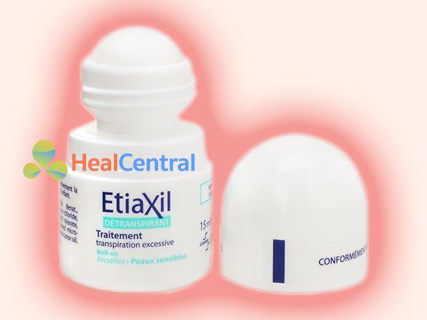 EtiaXil được chứa trong lọ lăn nách
