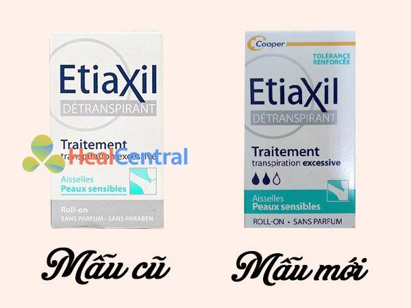 EtiaXil thay đổi bao bì