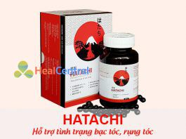 Viên uống đen tóc Hatachi