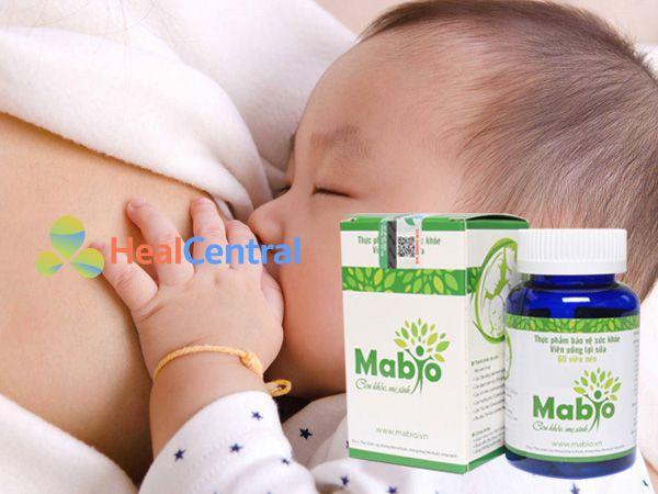 Viên uống Mabio - tăng khả năng tiết sữa