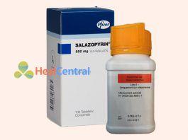 Hình ảnh thuốc Salazopyrine