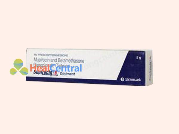 Hình ảnh hộp thuốc Supirocin-B