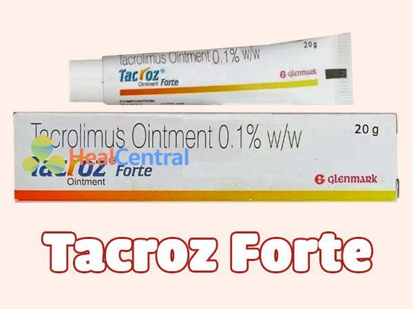 Tacroz Forte dành cho bệnh nhân chàm
