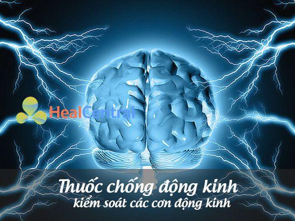 Thuốc chống động kinh giúp kiểm soát các cơn động kinh